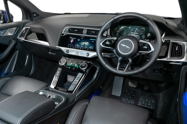 Jaguar I-Pace interior: Car of The Decade 2010s