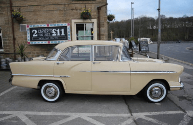 Vauxhall Victor F Series - complete with 'dog leg'