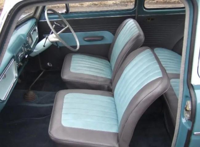 Ford 105E interior