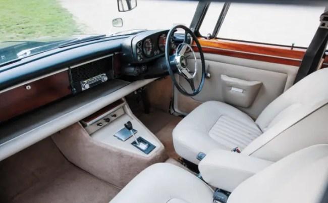 Rover 3.5 Litre Interior