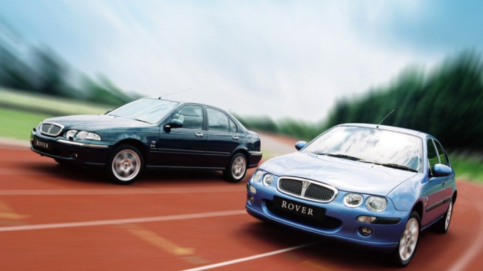 Rover 25 and 45 were launched in 1999 as a way of keeping the 200/400 going just a little longer