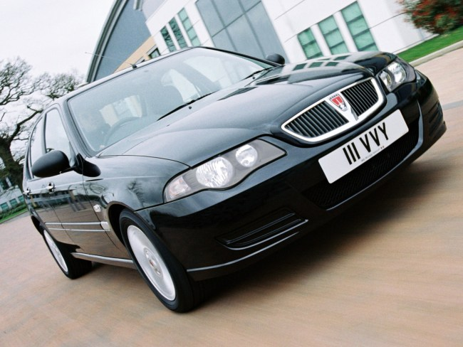 Rover 45, facelifted version