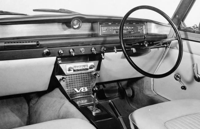Seat of Power: Rover Three Thousand Five. 1968