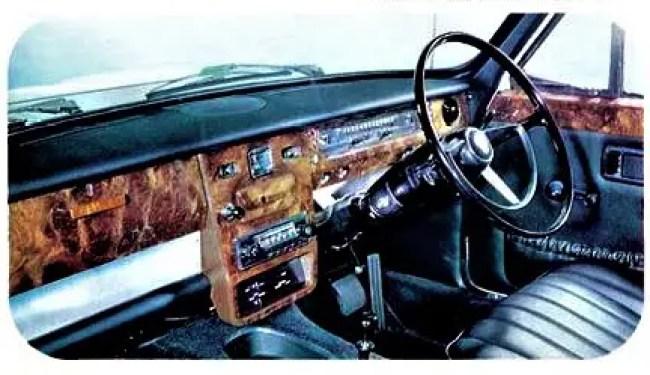 Old school: Austin 3 Litre. 1967