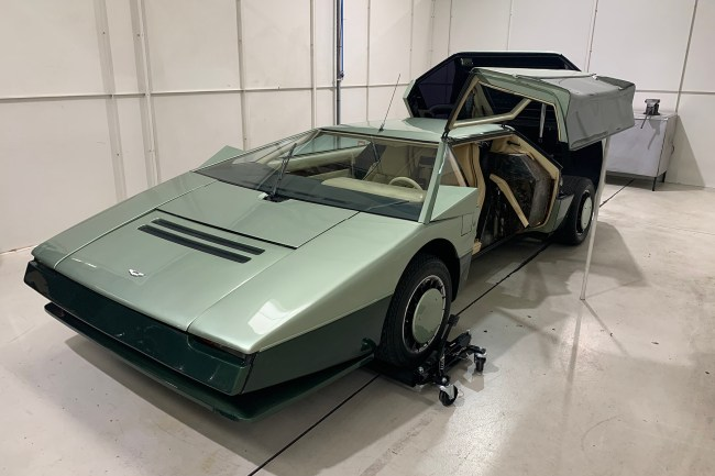 Aston Martin Bulldog restoration 01