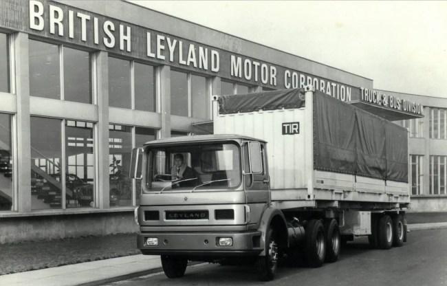 Leyland 350/400hp Gas Turbine Truck