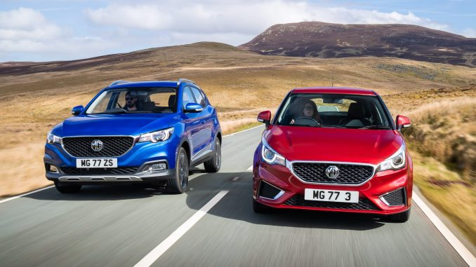 MG 3 and MG ZS