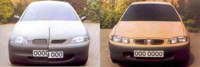 Rover 200 (R3) styling models
