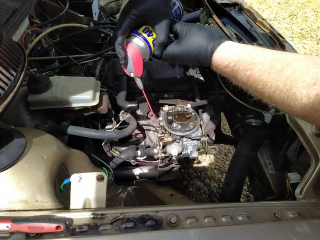 Audi 80 carburettor