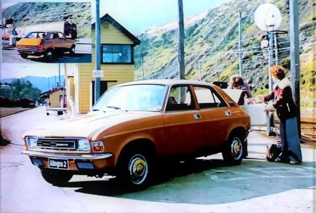 Austin Allegro 2 in New Zealand - 1976.