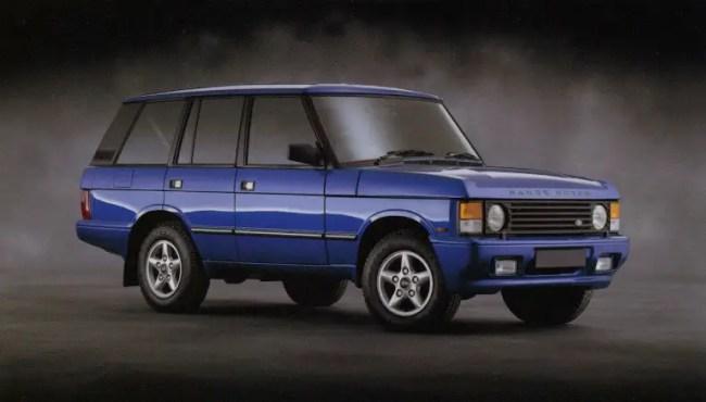 1993-Land-Rover-brochure-Range-Rover-3.9-Autobiography-standard-wheelbase-in-Candy-Apple-Lamborghini-Blue