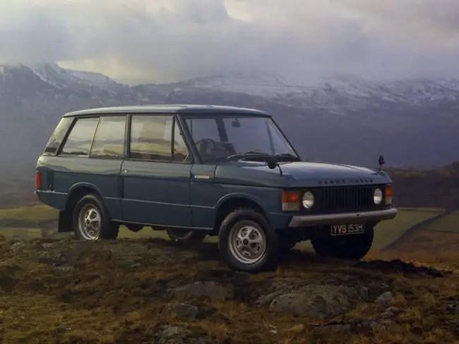 1970 Range Rover launch image