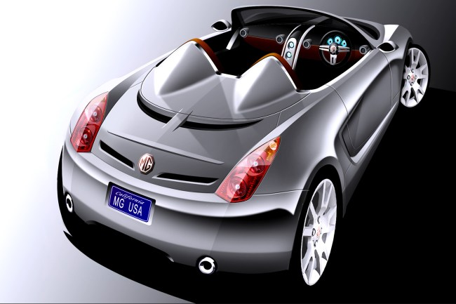 The X120-generation MG Roadster