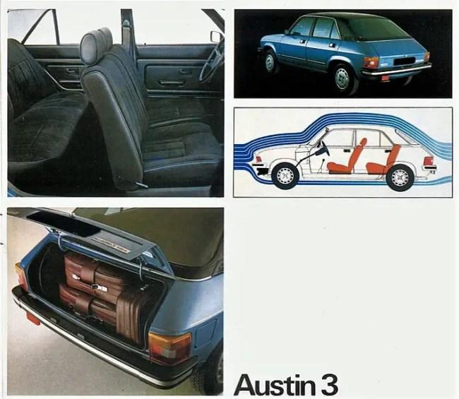 Still an Allegro really - the Dutch 'Austin 3' of 1979.