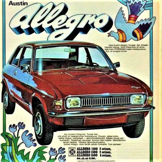 Austin Allegro in Finland - 1974