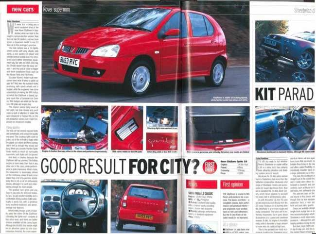 CityRover in AutoExpress