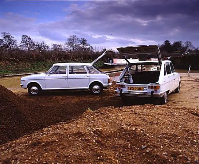Austin Maxi vs Renault 16