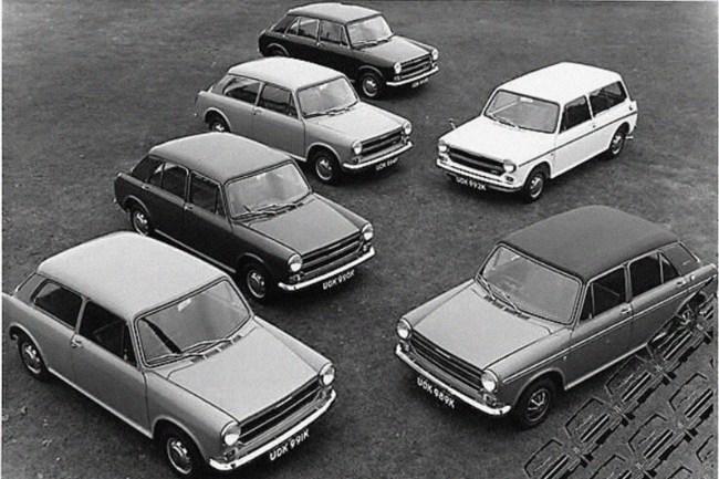 Austin-Morris 1100:1300 range
