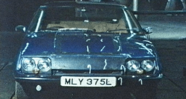 Rover P10 in the wind tunnel