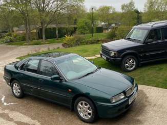 Steven Ward's Rover 600