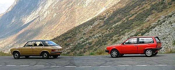 Austin Allegro and VW Polo