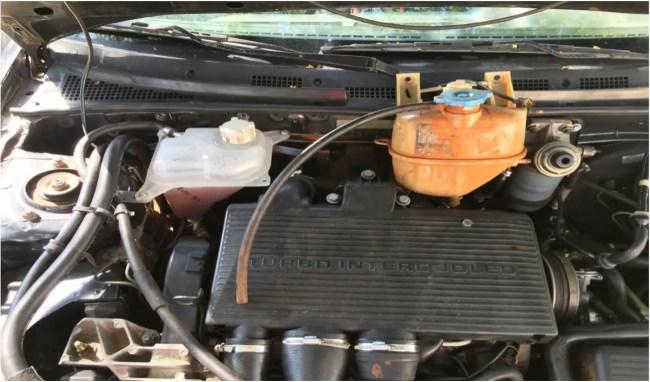 Rover 400 underbonnet