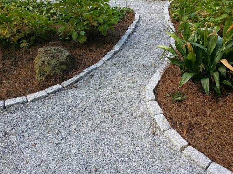 Gravel garden path ideas