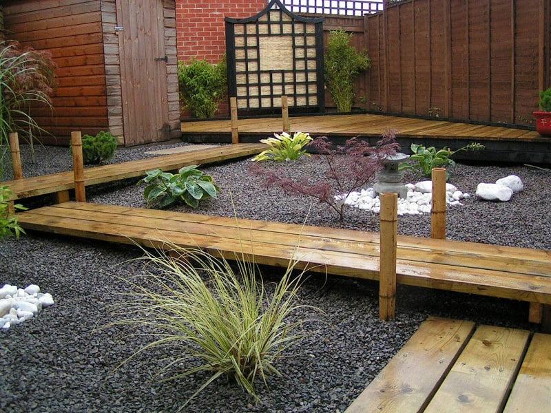 Oriental garden path ideas