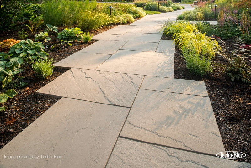 Garden office path ideas