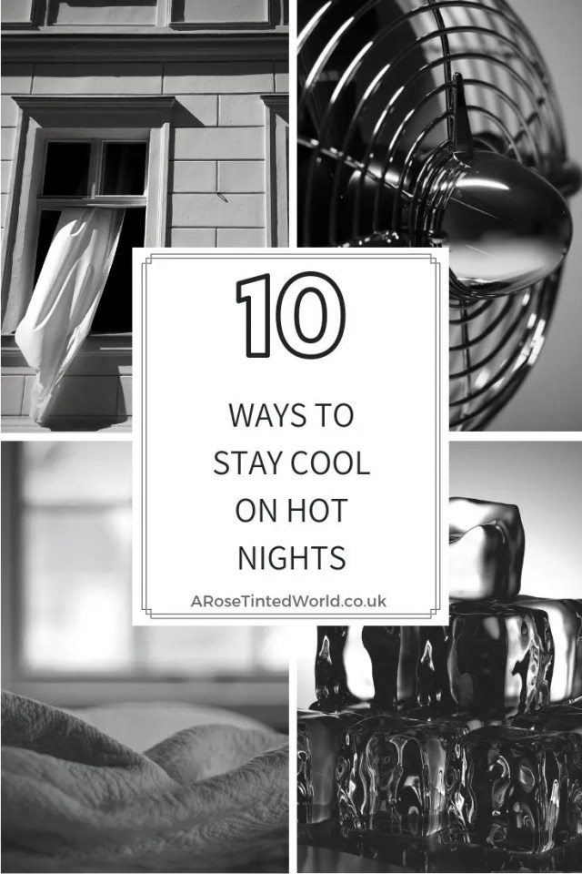 10 ways to stay cool on hot nights