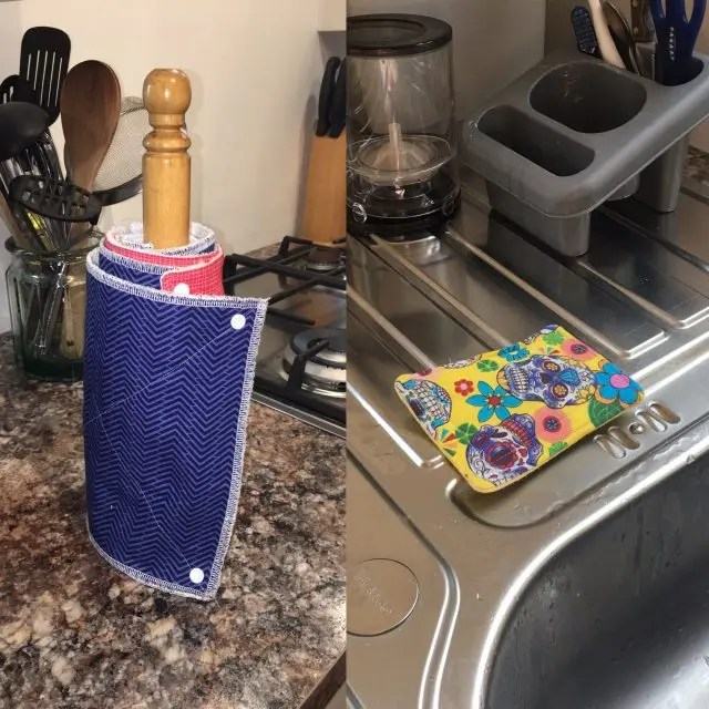 reusable kitchen roll and unsponges
