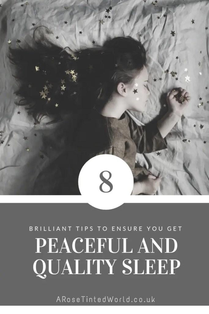 8 best ways to get good quality peaceful sleep