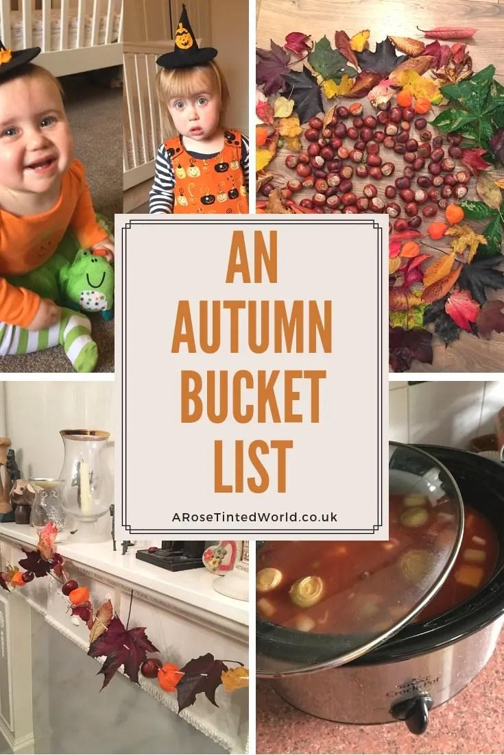 An autumn bucket list