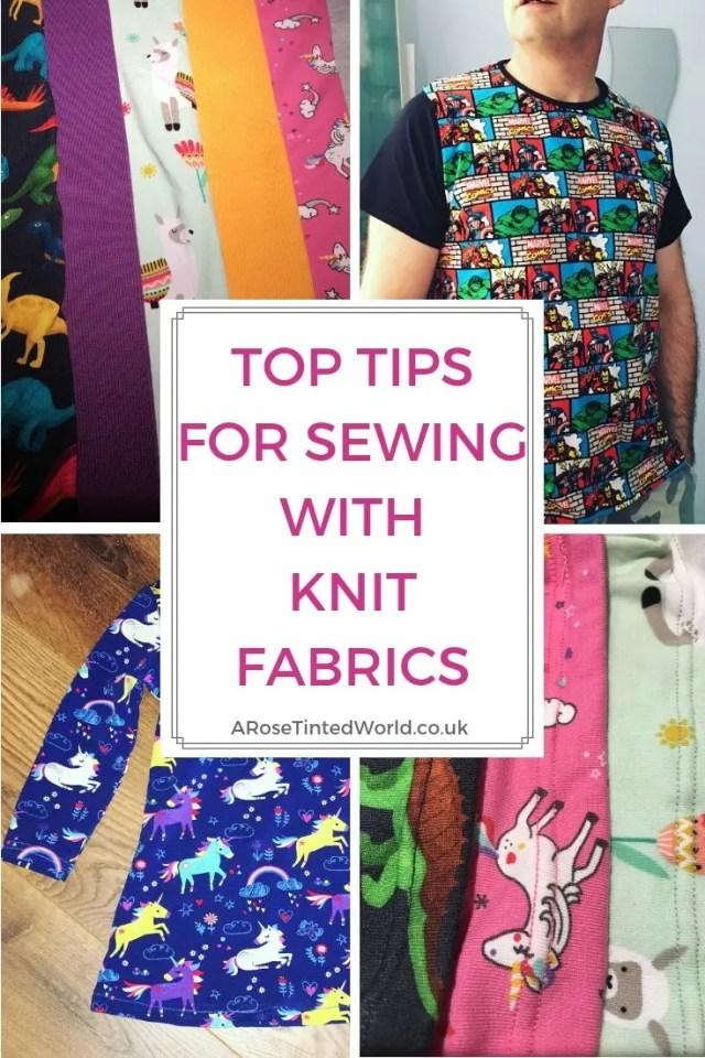 Top Tips for Sewing With Stretch Fabrics