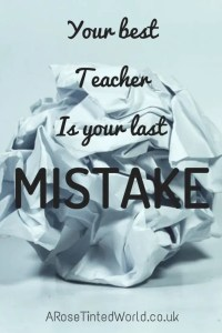 60 Positive Motivational Quotes - your best teacher is your last mistake