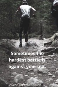 60 Positive Motivational Quotes - sometimes the hardest battle is against yourself