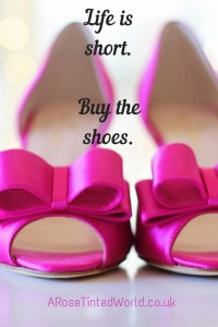 60 Positive Motivational Quotes - Life is short, Buy the shoes