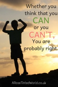 60 Positive Motivational Quotes - whether you think you can or you can't you are probably right