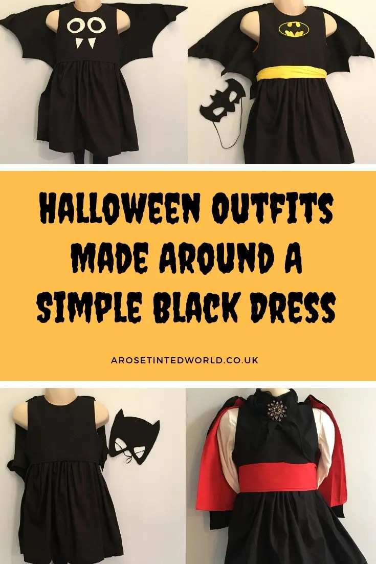 Halloween Outfits Made Around A Simple Black Dress. ⋆ A