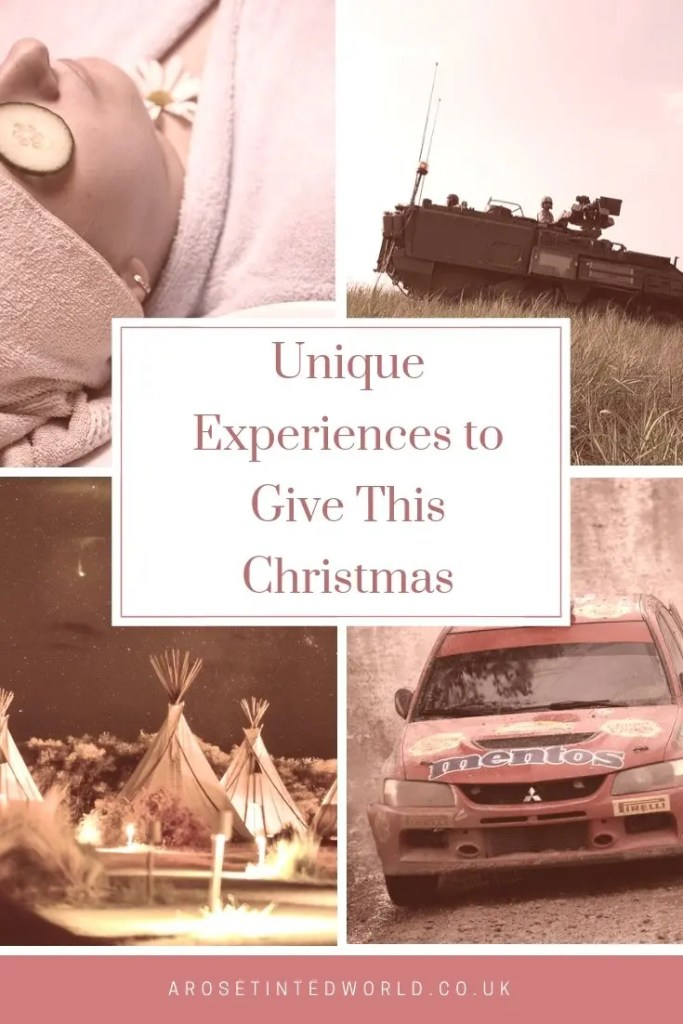 Unique Christmas Gift Experiences