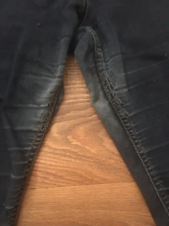 New Clothes From Old - close up old jeans