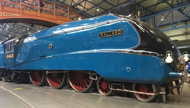 A Trip To York Railway Museum - Mallard