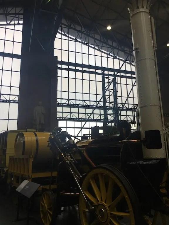 A Trip To York Railway Museum - Rocket