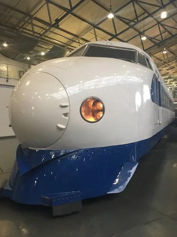 A Trip To York Railway Museum- shinkansen