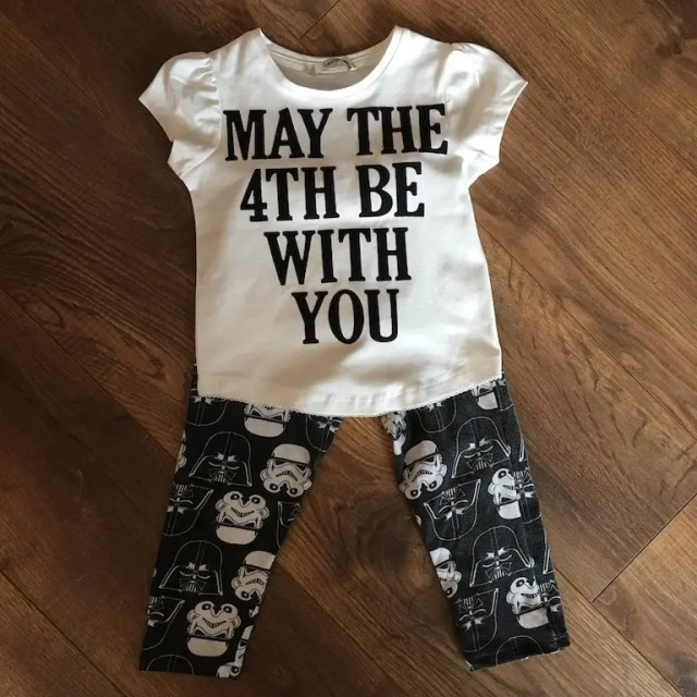 New Clothes From Old = star wars leggings