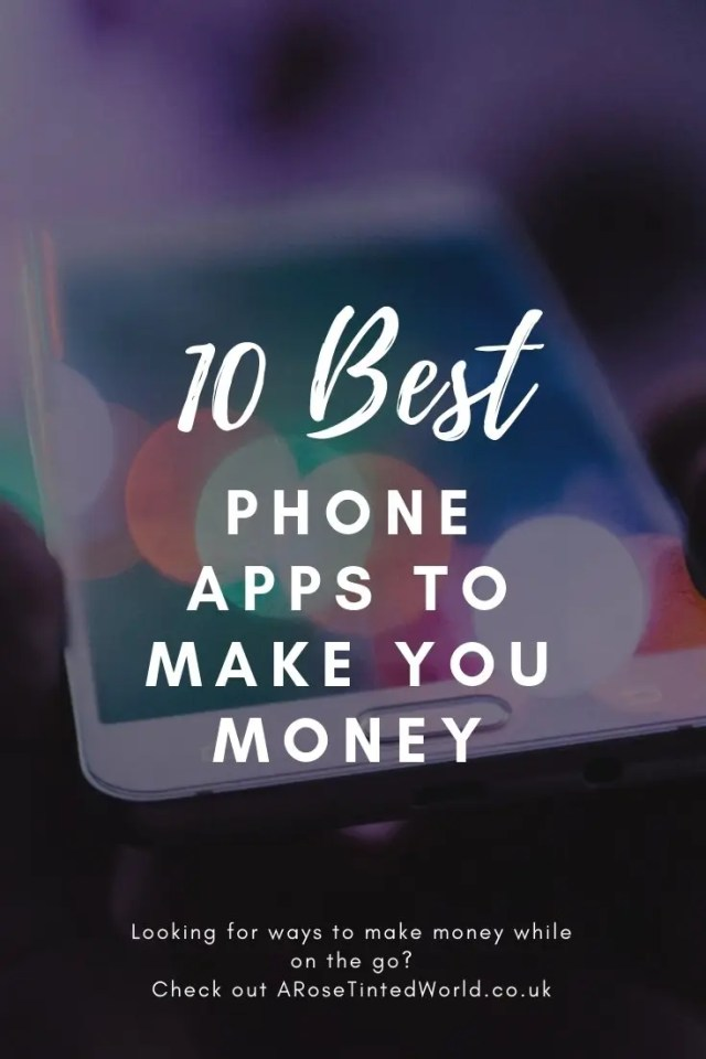 Phone Apps To Make You Money
