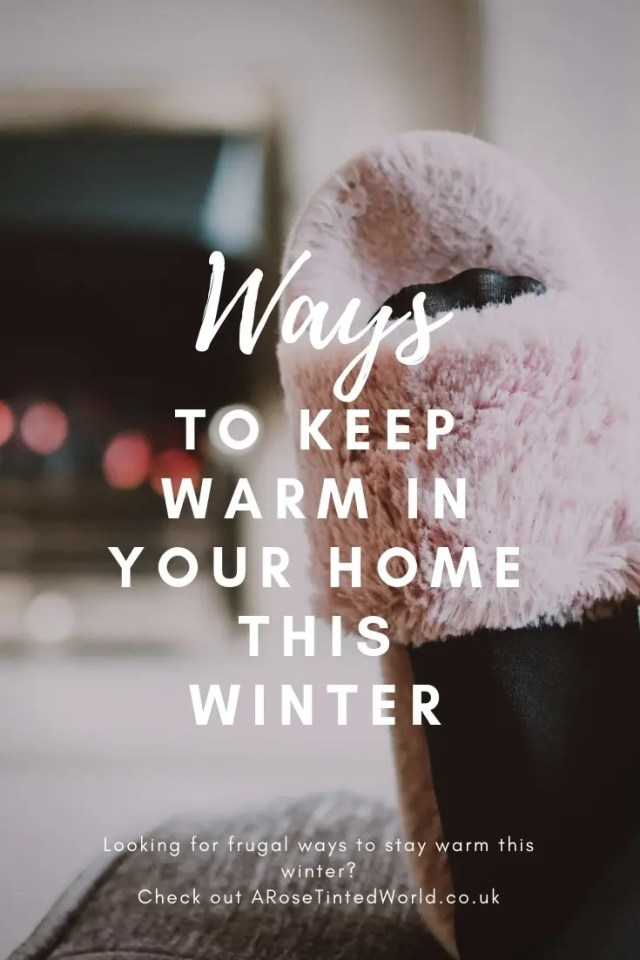 Looking for some cheap easy and above all frugal ways to keep warm in your home this winter?