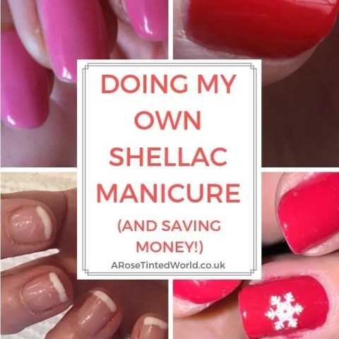 Doing My Own Shellac Manicure And Saving Money