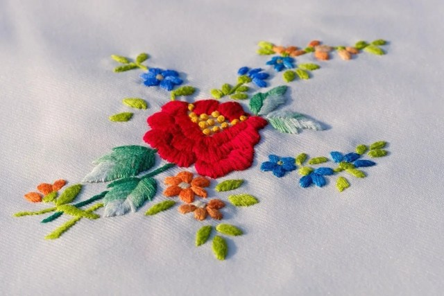 Encouraging Children to Start Sewing - embroidery