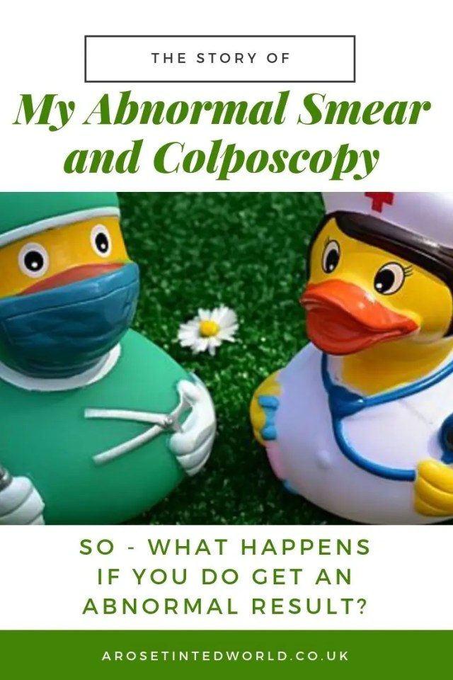 My Abnormal Smear and Colposcopy